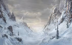 снежный перевал