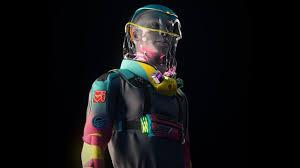 дизайнерский противовирусный костюм