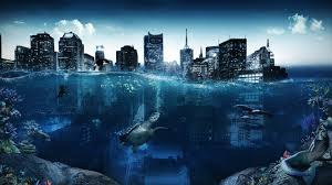 затопленный город